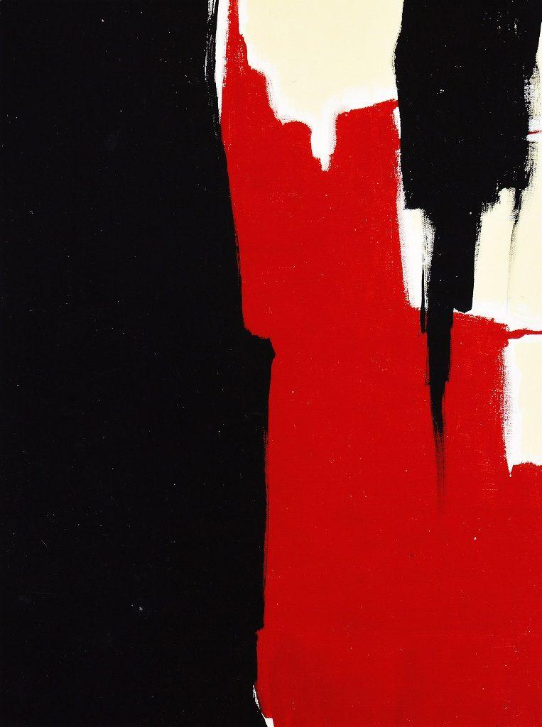 Giancarlo Cerri, Sequenza verticale, 2005, olio su tela, cm. 80x60
