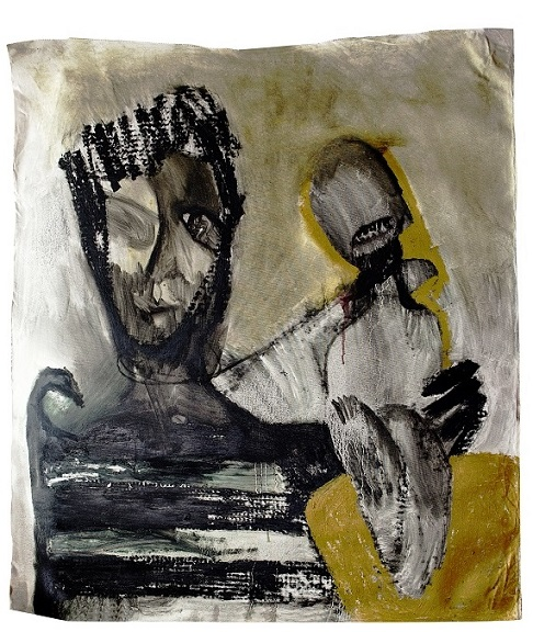 Liana Ghukasyan, PADRE, olio su tela, 2016