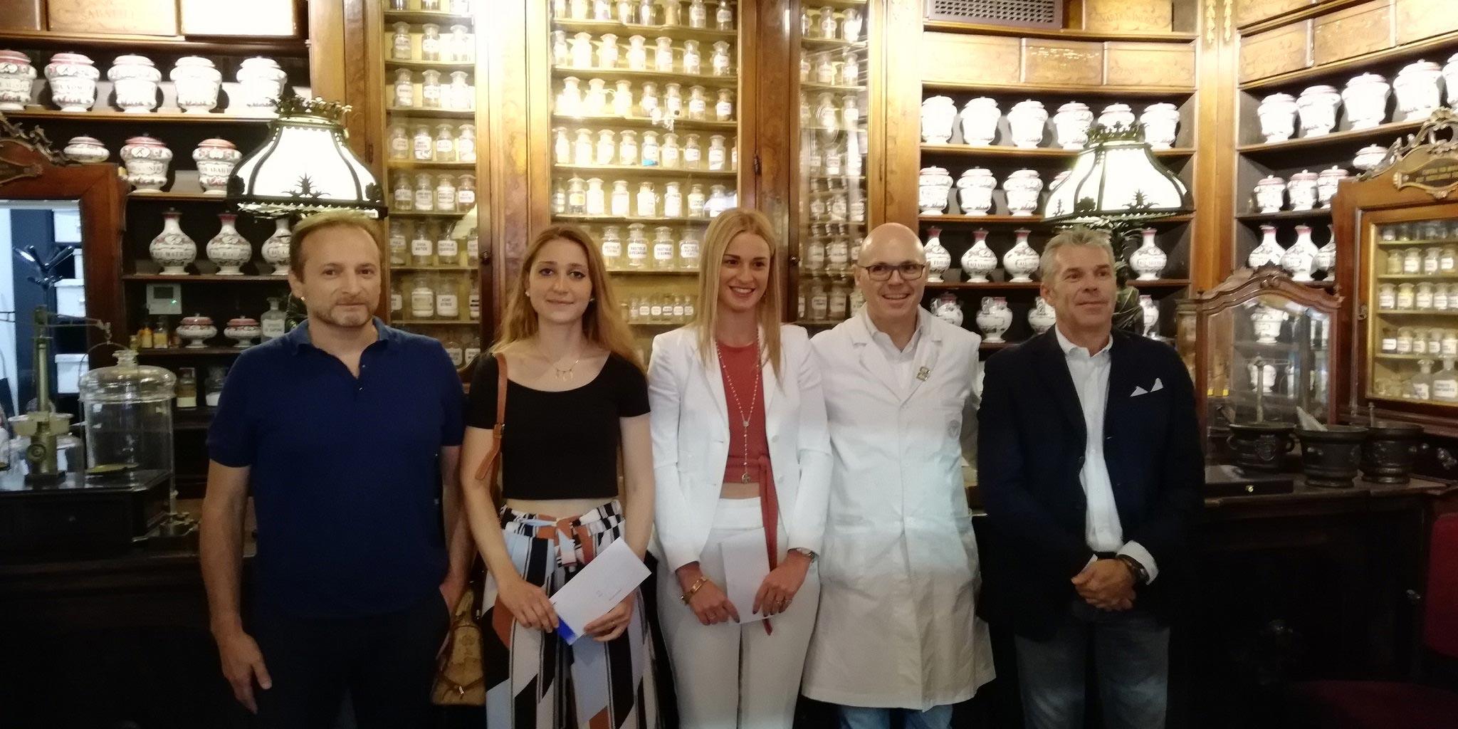 Premiazione - Pierpaolo Spimpolo, Melissa Giovani, Vittoria Sanni, Achille Toschi e Beppe Colombo